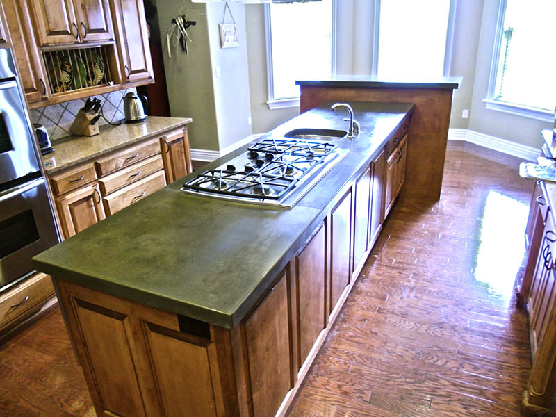 concrete kitchens concrete creations nwa