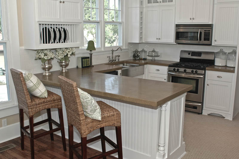 Concrete Kitchen Countertops by Concrete Creations in Arkansas
