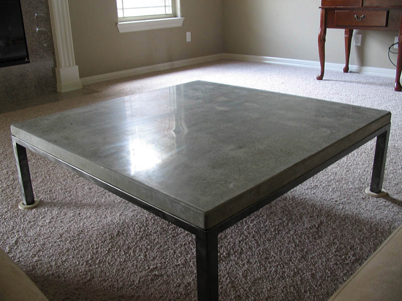 concrete furniture coffee table