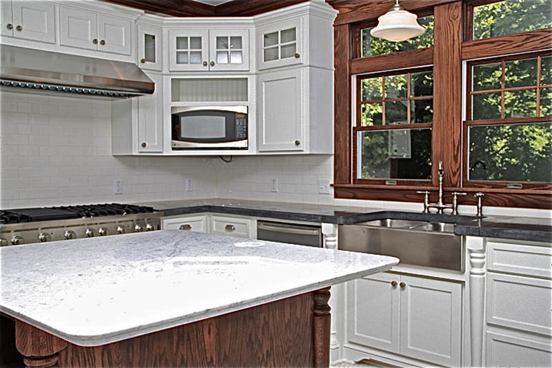 kitchen countertops in concrete