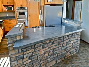 Kitchen Concrete Counters