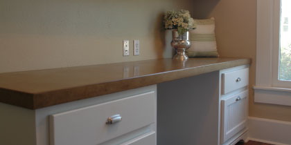 office countertops. Office-countertops-made-of-concrete Office Countertops